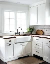 white shaker kitchen gorgeous cottage kitchen boasts white shaker cabinets fitted with dark nickel vintage cup white shaker kitchen