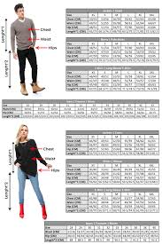 Vip Jeans Size Chart Size Charts Ravin