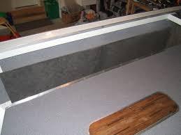 image of marine vinyl flooring that looks like ceramic tile