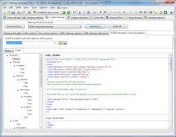 A1 Sitemap Generator - Screenshot - Sitemap Generator Html Template