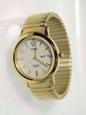 timex dress expansion t219429j wrist watch for men timex men s t21942 elevated classics dress gold tone expansion band watch