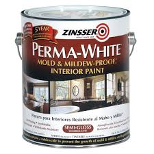 semi gloss paint bathroom. Perma-White Mold And Mildew-Proof Semi-Gloss Interior Semi Gloss Paint Bathroom