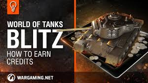 World Of Tanks Blitz Credit Earning Chart 2018 Wot Blitz How To Earn Credits