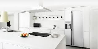 white fridge in kitchen. buying a new fridge-freezer? white fridge in kitchen