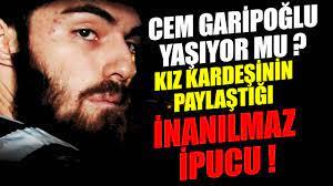 Cem Garipoğlu yaşıyor mu? Ortaya çıkan şok detay (Gündem Haber, Son Dakika)  - YouTube