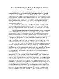 forrest gump film analysis essay