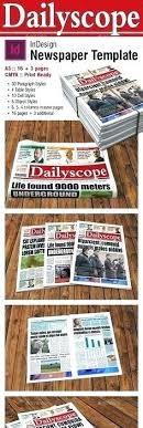 Free Newspaper Template Psd Lean Tools The Newspaper With For Template A3 Free Grillaz Co