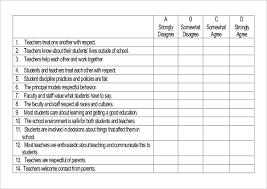 Sample Surveys Questionnaires 19 Student Survey Templates Pdf Doc Free Premium Templates