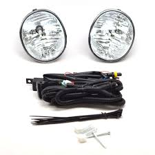 replacement Fog Lights driving light with Bezel and harness Left + ...