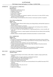 Hvac Job Resume Examples Hvac Apprentice Resume Samples Velvet Jobs 18