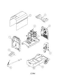 Lincoln precision tig 185 welder parts model