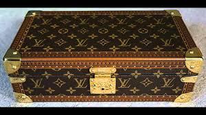 louis vuitton case. louis vuitton luxury wrist watch display box - travel case for rich people youtube