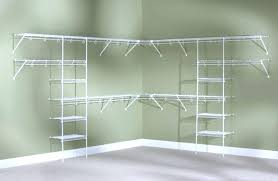 wire closet organizer systems s wire closet shelves shelving systems