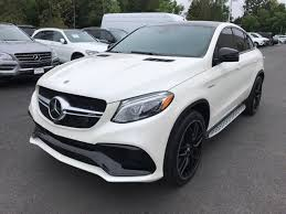 Request a dealer quote or view used cars at msn autos. Pre Owned 2018 Mercedes Benz Amg Gle 63 4matic Coupe Suv Designo Diamond White Metallic Oc18 138b