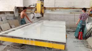 infrared cutting machine quartz stone countertop manufacture