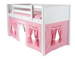 the loft bed itself is made of solid birch hardwood build to last for years note that maxtrix offers a 5 year limited warranty on all their s