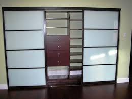 sliding closet doors frosted glass gallery doors design modern