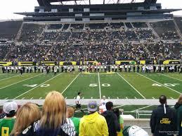 Autzen Stadium Section 9 Rateyourseats Com