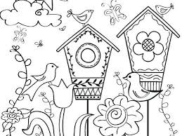 Preschool Spring Coloring Pages Printable Kitchen Easy For Kids