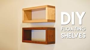 how to build diy floating shelf with invisible hardware you for hanging box shelves prepare