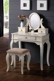 Metal Bedroom Vanity Modern Corner Rectangular White Wooden Makeup Vanity Table With