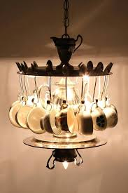 teacup chandelier best home lighting images on iron pipe and ideas design