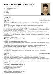 Exemplos De Curriculos Modelo De Curriculum Empregado Exemplo De Cv Empregada Livecareer