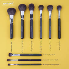 docolor 29pcs makeup brushes set reveal your natural beauty this makeup brush set will leave you with a flawless finish sable pony goat and synthetic