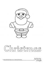 Santa Claus Printables Santa Claus Printables