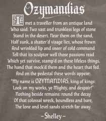 best ozymandias poem ideas poem analysis i m a fan of r tic literature and poetry ozymandias by shelley about a statue of ramses ll the poem portrays the downfall from power