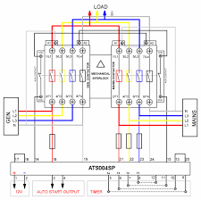 automatic transfer switch wiring diagram Wiring Diagram For Generator Transfer Switch automatic transfer switch controller ats004sp build your own wiring diagrams for generator transfer switch