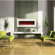 Contemporary Wall Fireplace Zamp Co