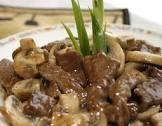beef   mushrooms in hoisin sauce