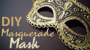 Cardboard Masks To Decorate DIY Masquerade Mask from scratch YouTube 27
