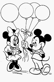 Mickey Mouse En Minnie Mouse Model Mickey And Minnie Coloring Pages