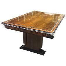 Inlaid Dining Table Inlaid Dining Table In The Ruhlmann Manner For Sale At 1stdibs
