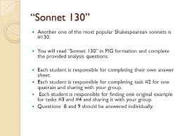 Sonnet 130 essay