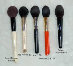 rae morris 24 all over powder together with some similar brushes