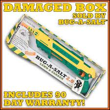 details about damaged box bug a salt 2 0 lawn garden never used full manufacturer warranty