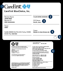 Read on to understand more about the components of a blue cross blue shield insurance card and how to read them. Member Id Card Carefirst Bluecross Blueshield