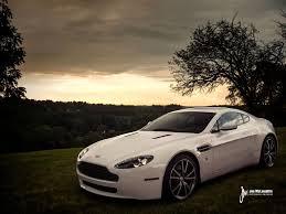 6-speed Stratus White Aston Martin Vantage - Rare Cars for Sale ...