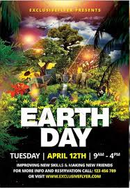 Earth Day Celebration Free Club And Party Free Flyer Psd
