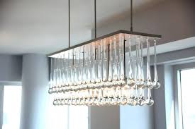 chandeliers glass teardrop chandelier terrific lighting of the interior architecture extraordinary at clear prism filament