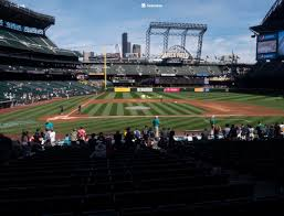 T Mobile Park Section 124 Seat Views Seatgeek