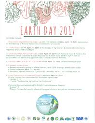 news national government earth day 2017 activities and program