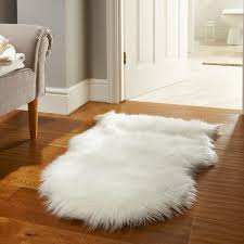 faux fur white rug 113 unique decoration and sheepskin in ideas 6