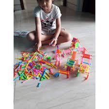 Bộ đồ chơi xếp hình que thông minh cho bé thỏa sức sáng tạo | Nông Trại Vui  Vẻ - Shop