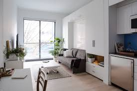 apt furniture small space living. Small Space Living In Micro-Apartments NYC | Architectural Digest Apt Furniture O