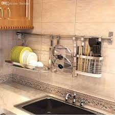 wall hanging plate holder stainless steel kitchen plate racks wall mounted decorative wall plate rack wall hanging plate holder