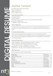 25 - Sample Resume Australia